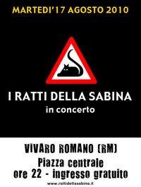 concerto Ratti della Sabina a Vivaro