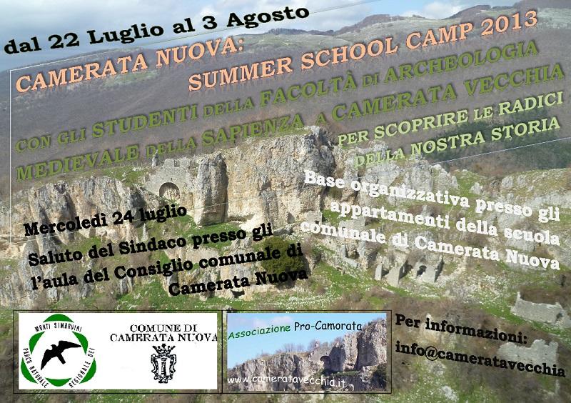 Summer School Camp 2013